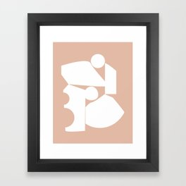 Shape study #16 - Inside Out Collection Framed Art Print