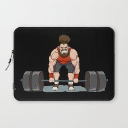Weightlifting | Fitness Workout Laptop Sleeve