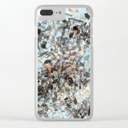 Bird's nest Clear iPhone Case