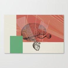 HUMAN RACE / BRAIN Canvas Print