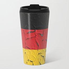 Old Germany flag Travel Mug
