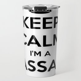Keep Calm I Am A Massage Therapist Travel Mug