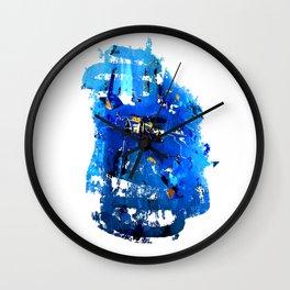 Blue Emotion Wall Clock