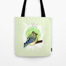 Spring birdy / Nr. 6 Tote Bag