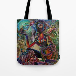 Lady Extinction Tote Bag