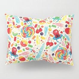 Candy Pattern - White Pillow Sham