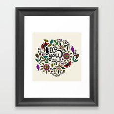 Be You-Tiful Framed Art Print