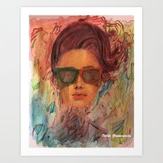 Looking for the summer Art Print