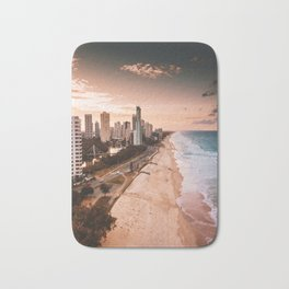 surfers paradise beach Bath Mat