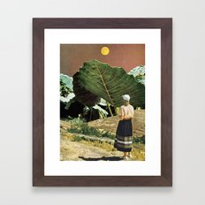 PHOTO SYNTHESIS Framed Art Print