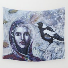 Sacred Messengers Whispering Wall Tapestry