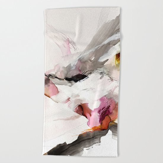 Day 23: Senses may override the mind, but a steady mind can abrogate the senses. Beach Towel