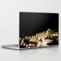 medieval Laptop & iPad Skins featuring Medieval Night by Schwebewesen • Romina Lutz