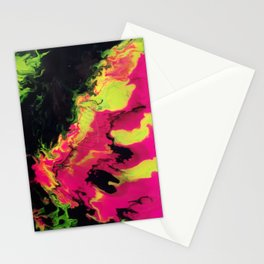 Vivid Strata Stationery Cards