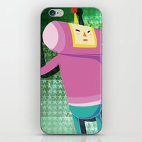 katamari iPhone & iPod Skins featuring Katamari Cousins - Macho by cakeisforrobots