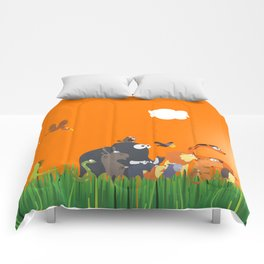 What's going on in the jungle? Kids collection Comforters