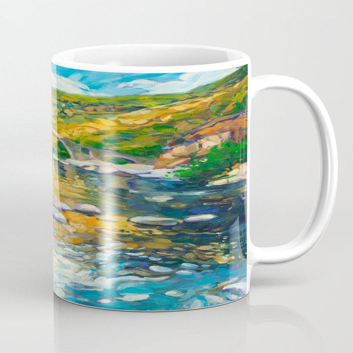 Bridge in the mountains Coffee Mug