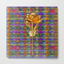 """Rose Facination"" Metal Print"