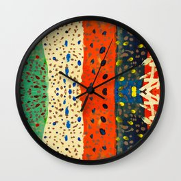 autumn thoughts by elisavet Wall Clock