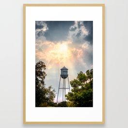 Gruene, Texas - The Watertower Framed Art Print
