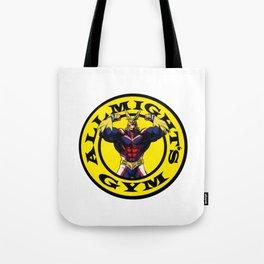 Allmight Boku No Hero My Hero Academia Golds gym Tote Bag