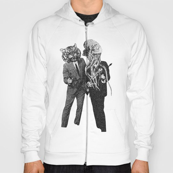 The Made Us Detectives (1979) Monochrome Hoody
