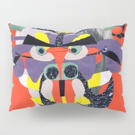 deamonface orange Pillow Sham