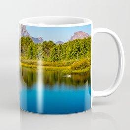 Oxbow Bend - Mt Moran in the Grand Tetons Coffee Mug