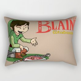 The Legend of Blaine Rectangular Pillow