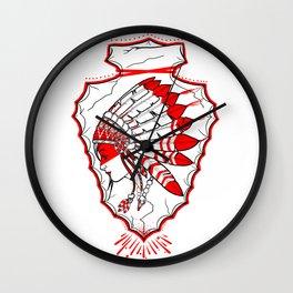 Indian Girl Wall Clock