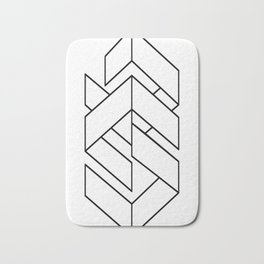 Enigmatic-Lines-(On-Light) Bath Mat