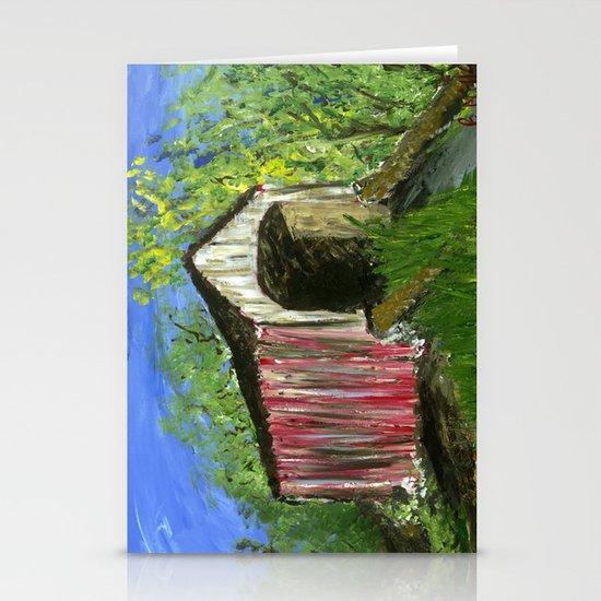 Erwinna Covered Bridge  Stationery Cards