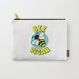 Bee Vegan Carry-All Pouch