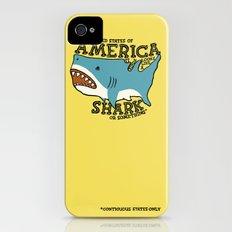 America…   it kinda looks like a shark or something iPhone (4, 4s) Slim Case