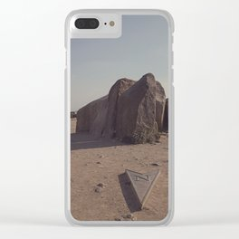 North + South Clear iPhone Case