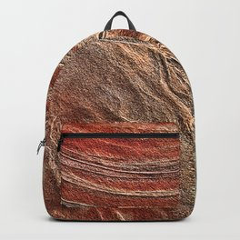 Paris Wilderness: Sandstone Pattern at the Wave Backpack