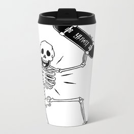 Dry Bones Metal Travel Mug