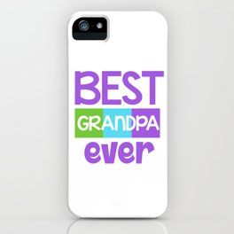 Family Tree Kinship Ancestry Household Love Bloodline Ancestors Best Grandpa Ever Grandfather Gift iPhone Case