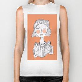 Reading Jane Austen is always a good idea. Biker Tank
