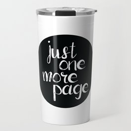Just One More Page Travel Mug