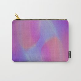 Glowing Pink Gradient Carry-All Pouch