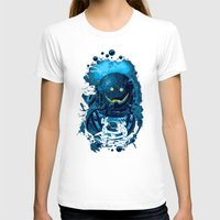 diver T-shirts featuring SMILING DIVER by ADAMLAWLESS