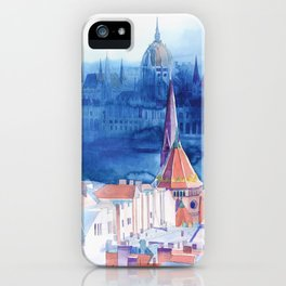 Morning in Budapest iPhone Case