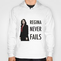 regina mills Hoodies featuring Regina never fails by Geek World