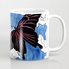 Butterfly II ink by carographic, Carolyn Mielke Mug