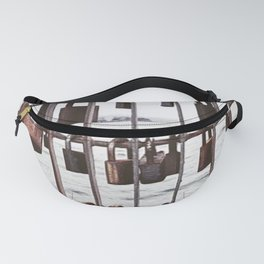 Wellington love locks Fanny Pack
