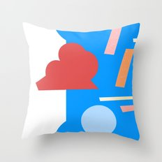 geometry 1 Throw Pillow