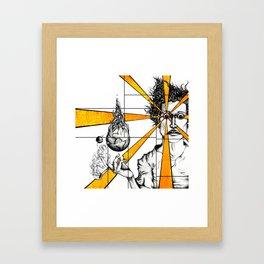 Living Lover Lounges/Company Framed Art Print