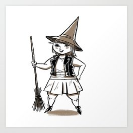 Witchster Art Print