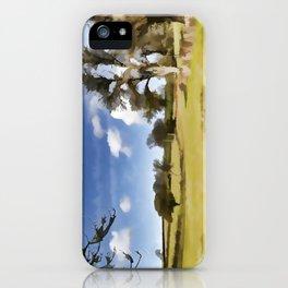 Winter Clouds iPhone Case